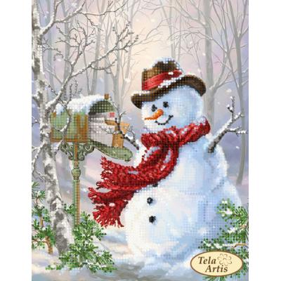 Bead Art Kit - New Year's Postman