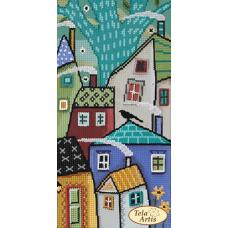 Bead Art Kit - Fairy Tale City - 3 (Tumble Houses)