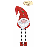 Bead Art Bauble Kit - Red Christmas Gnome