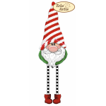 Bead Art Bauble Kit - Red & White Christmas Gnome