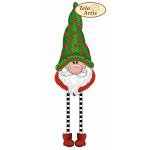 Bead Art Bauble Kit - Green Christmas Gnome