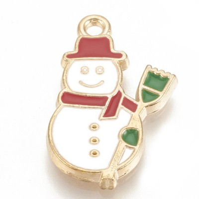 Christmas Snowman Charm - Pack of 2