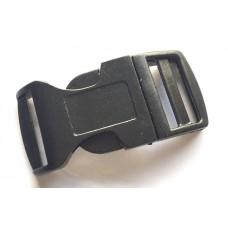 25mm Paracord Clip - Black