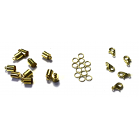 6mm Bell Closure Pack – Gold Tone