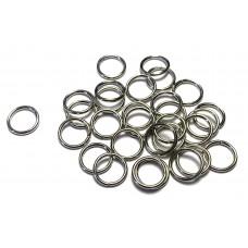 12mm Jump Rings - Silver Tone
