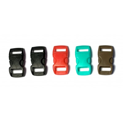 10mm Paracord Clips - 5 Pack