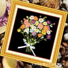 3D Flower Bouquet , Oxford Silk Ribbon Kit
