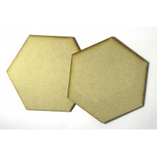 MDF - Large Hexagon (2 Pack)