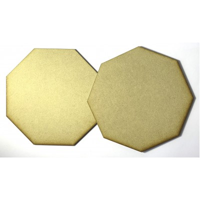 MDF - Large Octagon (2 Pack)