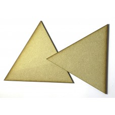 MDF - Large Triangle (3 Pack)