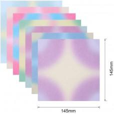Gradient Square Multi Color Paper Pack