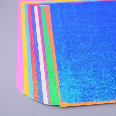 Shiny Iridescent Paper Square Pack