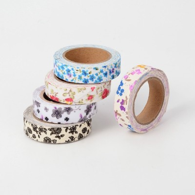 Fabric Flower Patterned Tape