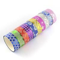 Glitter Patterned Self Adhesive Tape