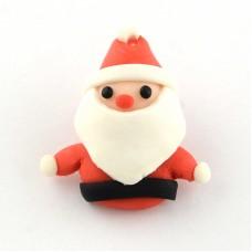Polymer Clay Santa Claus
