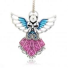 Archangel Pendant- Hot Pink