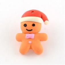 Polymer Clay Gingerbread Man