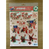 Decoupage Die Cut Toppers - Christmas 314