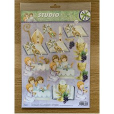 Decoupage Die Cut Toppers -  Conformation 265