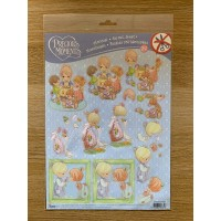 Decoupage Die Cut Toppers -  Precious Moments 24