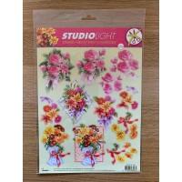 Decoupage Die Cut Toppers - Flower Bouquet 259