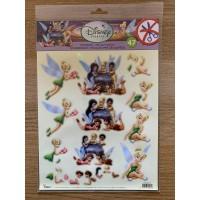 Disney Fairies Die Cut Decoupage Toppers