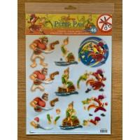 Disney Peter Pan Die Cut Decoupage Toppers