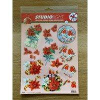 Decoupage Die Cut Toppers - Christmas 129