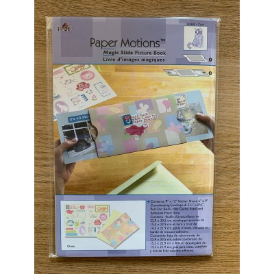 Magic Slide Picture Book Card Kit Cats