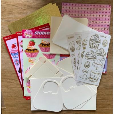 3D Cupcake Card Kit