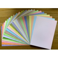 A4 Double Sided Printed Card Pack - Flowers