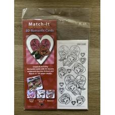 3D - Romantic Card Pack- Silver Tone