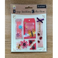 Embellishment Pack - Ladybird and Butterfly