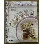 Vintage Flowers Cardmaking Book