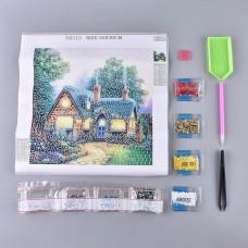Rhinestone Art Kit - Forest Cabin