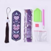 Rhinestone Art Kit - Butterfly Tassel Bookmark