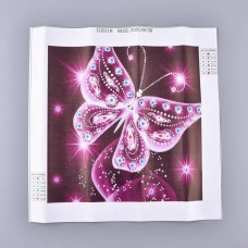 Rhinestone Art Kit - Large Butterfly
