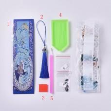 Rhinestone Art Kit - Mermaid Tassel Bookmark