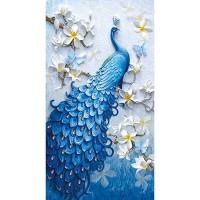 Rhinestone Art Kit - Peacock