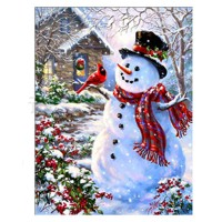 Rhinestone Art Kit - Snowman