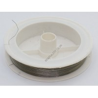 Tigertail Beading Wire – Silver