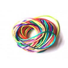 2mm Rattail (Satin Cord) - Rainbow