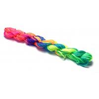 2mm Nylon Cord - Rainbow