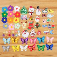 Embroidery Appliques - 60 Pack