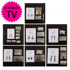 Christmas Earring Kit Collection - Makes 70 Pairs of Earrings