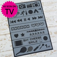 Strip Stencils - Hobby - Pack of 7